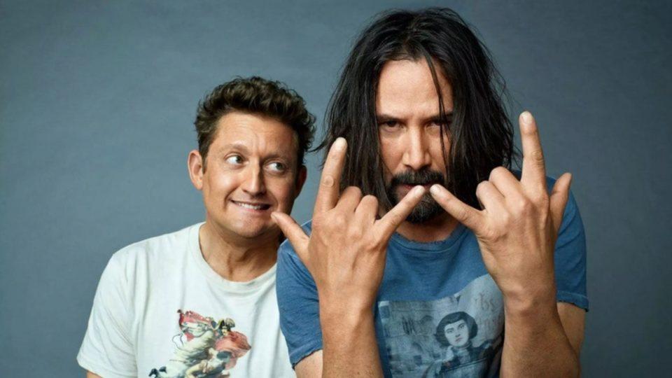 Keanu Reeves ve Alex Winter
