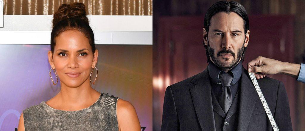 Halle Berry, John Wick 3'te Keanu Reeves ile rol alacak