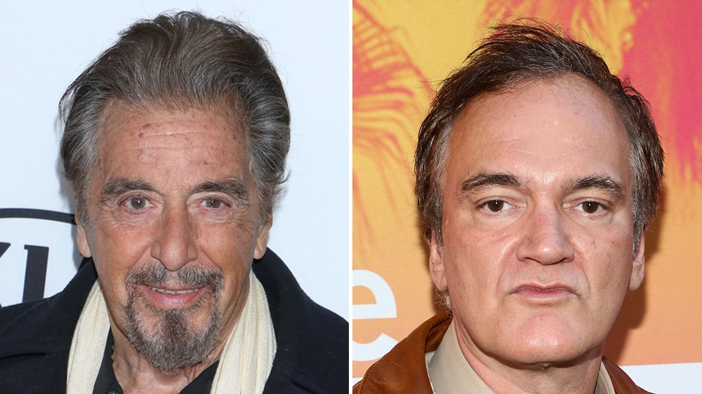 Al Pacino ve Quentin Tarantino