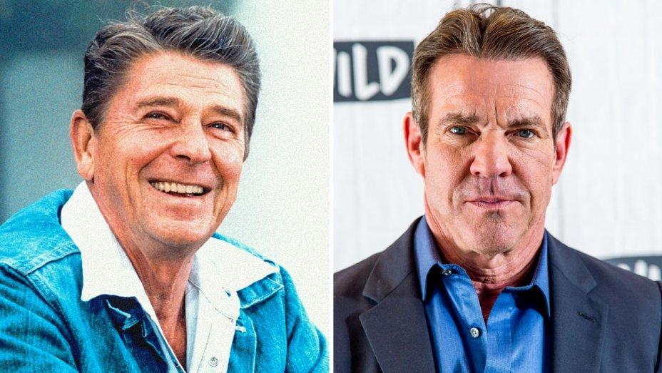 Dennis Quaid, Ronald Reagan'ı canlandıracak