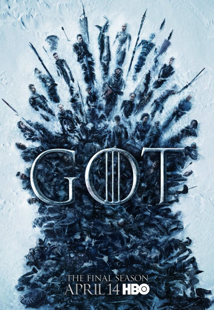 Game of Thrones 8. Sezon Poster
